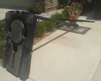 Portable basketball for your backyard or front yard