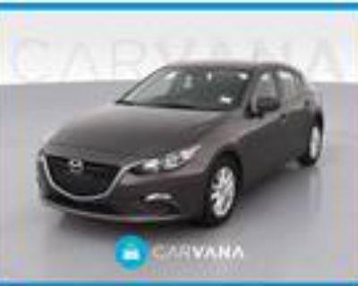 2016 Mazda MAZDA 3 Brown, 34K miles