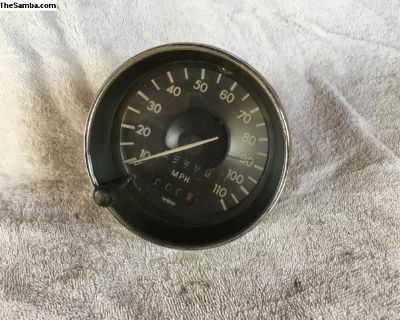 Speedometer - Zero Miles - Working Trip
