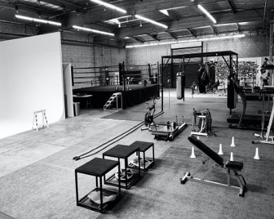 Boxing Gym in a Warehouse + Side Office, Los Angeles, CA