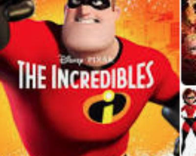 Two tickets for the Incredibles Friday night at Frost Ampitheater 5/21