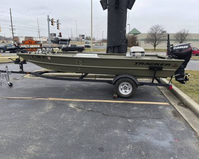 2018 Tracker Grizzly 1754 JON Aluminum Fish Boats Marion, IL