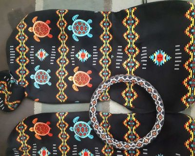 Car seat covers and Steering wheel cover