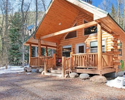 Homey cabin w/private hot tub, deck & grill - near National Forest - South Fork