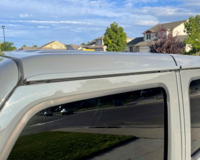 Colorado - Trade Only: Sing Gray color-matched hard top for stock Black hard top