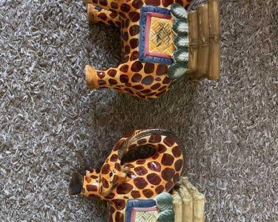 Giraffe ceramic