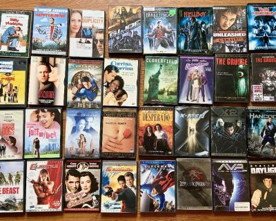 *PRICE DROP* New DVD LIBRARY LIST
