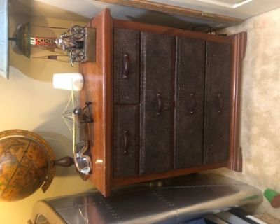 Rustic Dresser set