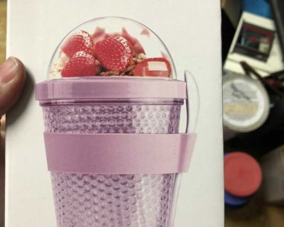 Yogurt 2 go insulated cup w/spoon. Brand new. Cross posted. $5