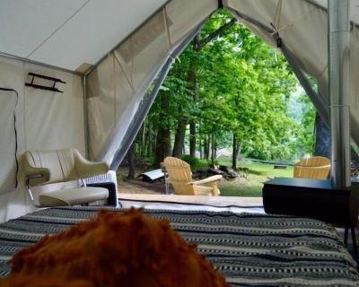 Tentrr Signature Site - Pat's Perch Camp & Float - Town of Delaware