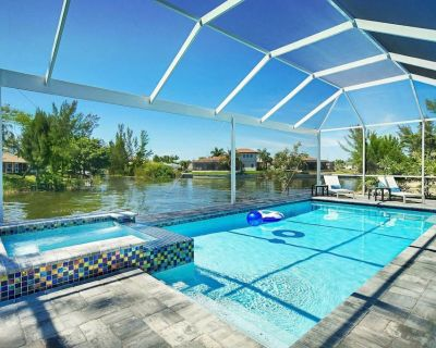 Waterfront Dream Home with private Pool, Jacuzzi and High Speed Internet - Pelican