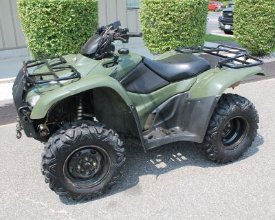 2013 Honda FourTrax Rancher 4x4 ES ATV Utility Adams, MA