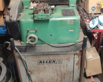 Disk brake lathe Disk brake cutter Allen DL595