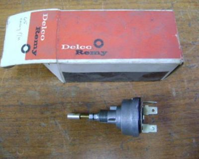 1965 Chevrolet Nos Delco Remy Wiper Switch 1993641