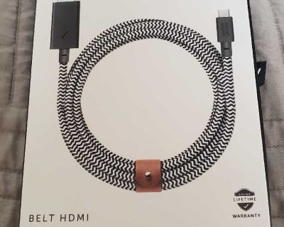 Native Union BELT HDMI The 10-foot USB-C to HDMI cable