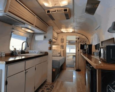 West Asheville Airstream with Hot Tub - Asheville