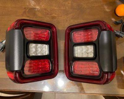 California - WTB 2021 Gladiator LED headlamps and tail lights.