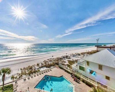FREE Beach Chairs! 1 Bedroom - 2 Bath Condo in Panama City Beach - Gulf Front - Gulf Lagoon Beach