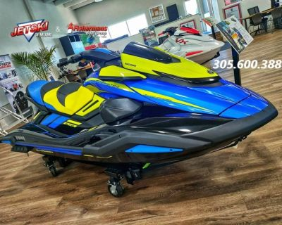 2021 Yamaha Waverunners FX Limited SVHO
