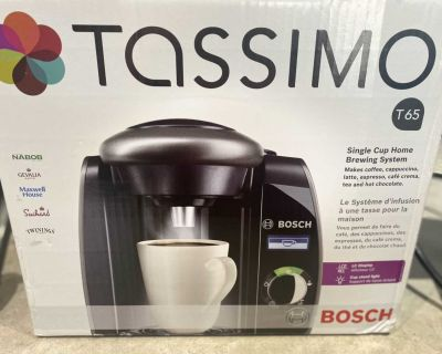 Used Tassimo single cup coffee maker