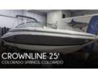 25 foot Crownline 25