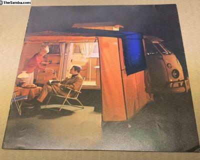 SO-42 color brochure - near mint