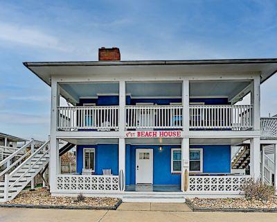 9th Street Beach Retreat | 4 Private Units | Walk to Ocean, Bay & Boardwalk - Ocean City