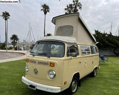 Complete 78 Deluxe Westfalia VW bus