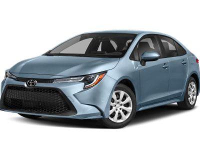 New 2022 Toyota Corolla LE FWD 4dr Car