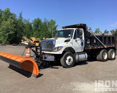 2011 International 7400 6x4 Snow Plow/Dump Truck