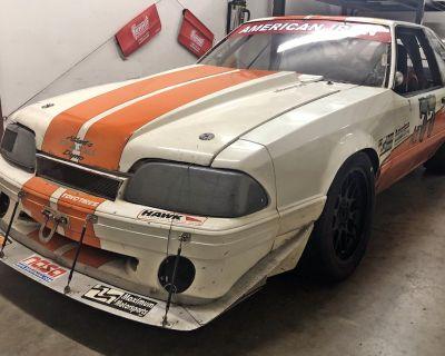 1988 Mustang Fox Body road race car