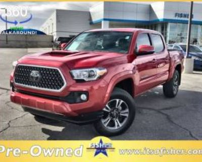 2018 Toyota Tacoma TRD Sport Double Cab 5' Bed V6 4WD Manual