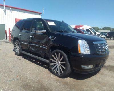Salvage Black 2008 Cadillac Escalade