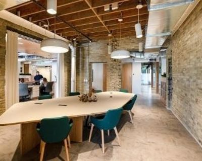 """Private office for 5-6 people ALL INCLUSIVE at """"1433 N Water Street Milwaukee United States"""""""