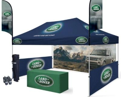 10x15 Custom Printed Canopy Tent Customize With your Brand | Alberta