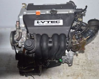 2002 2003 2004 2005 2006 Jdm K24a Motor Honda Crv I-vtec 2.4l Dohc K24a1 Engine