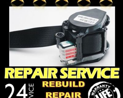 Fits Nissan Altima Dual Stage Seat Belt Repair Reset Service