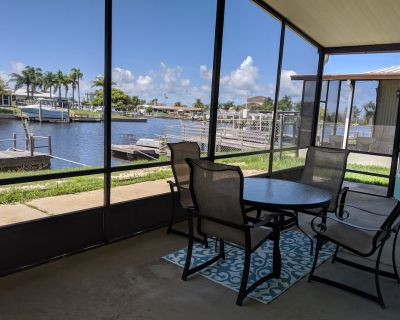 Relax in your chair on the floating dock as the tide rolls in & catch a few fish - Signal Cove