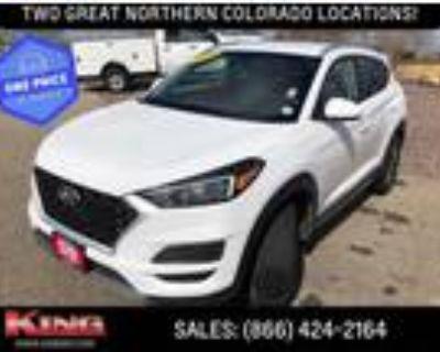 2019 Hyundai Tucson White, 40K miles