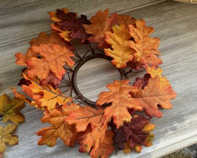 Fall candle ring