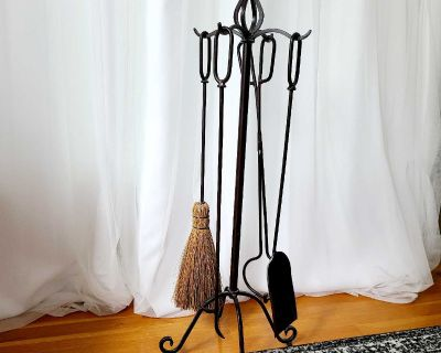 Fireplace Tools and Stand