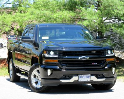 "Used 2018 Chevrolet Silverado 1500 4WD Double Cab 143.5"" LT w/2LT"