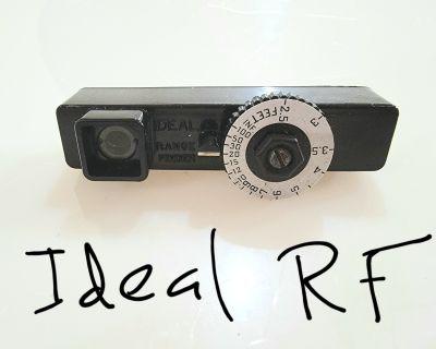 Hasselblad SWC/m + 120 back + Ideal Range finder