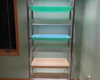 Lighted Plant Stand