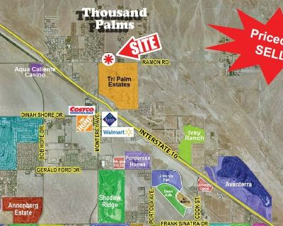 Two Commercial Lots Ramon Rd Frontage