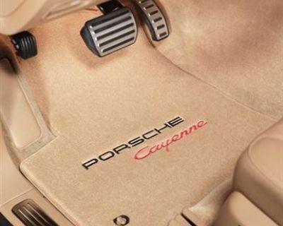 Lloyd Floor Mat 4-piece (front & Rear) Double Embroidery Set For Porsche Models