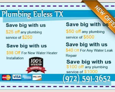 Plumbing Euless TX