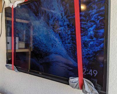"TCL 40"" 1080p back-lit LED HDTV LE40FHDE"