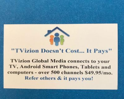 TVizion - It Doesn't Cost - It Pays!