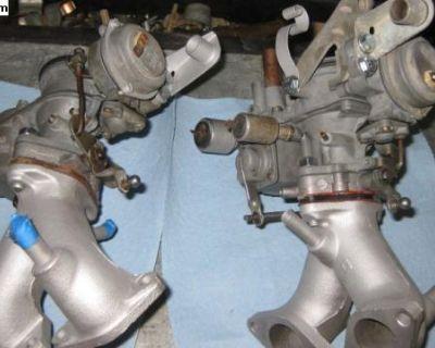 Dual Carburetors for a Transporte 72 to 73.